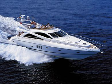 Sunseeker yacht charter in South of France