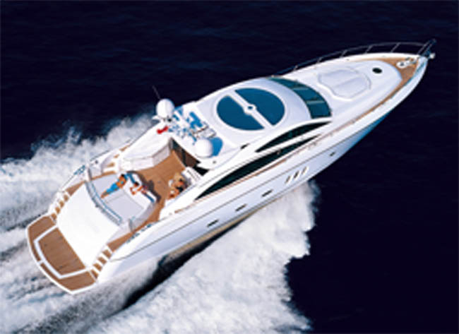 Sunseeker Predator 82 for charter